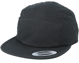 5-Panel Black Flexfit - Yupoong