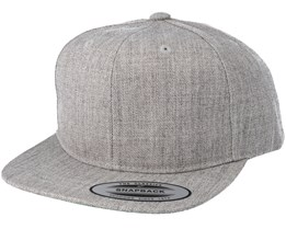 Kids Classic Heather Grey Child Snapback - Yupoong