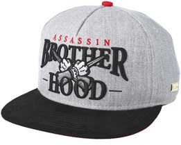 Brotherhood Grey Snapback - Hands Of Gold