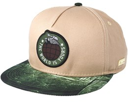 Tankin´ Sand Snapback - Hands Of Gold