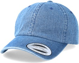 Dad Cap Washed Blue Adjustable - Yupoong