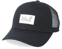 Heritage Cap Black Trucker - Jack Wolfskin