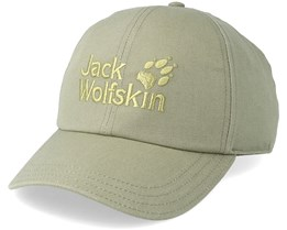 Baseball Cap Khaki Green Adjustable - Jack Wolfskin
