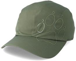 Active Fold-Away Cap Woodland Green Flexfit- Jack Wolfskin