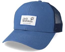 Heritage Ocean Wave Blue Trucker - Jack Wolfskin