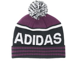 Pom Black/Rednight Beanie - Adidas