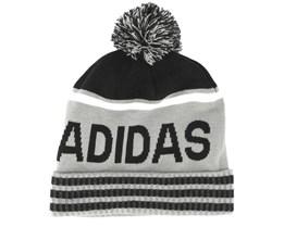 Pom Mid Grey/Black Beanie - Adidas