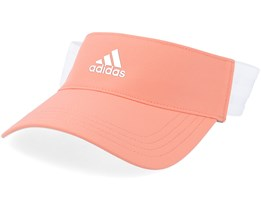 Three Stripe Orange Visor - Adidas