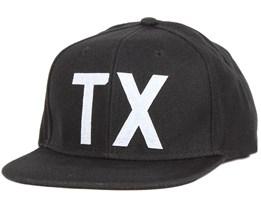 TX Cap Black Snapback - Dickies