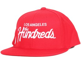 Forever Team Red Snapback - The Hundreds