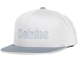 Corporate 5 Grey/Light Grey Snapback - Etnies
