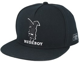 Rude Black Snapback - Cayler & Sons