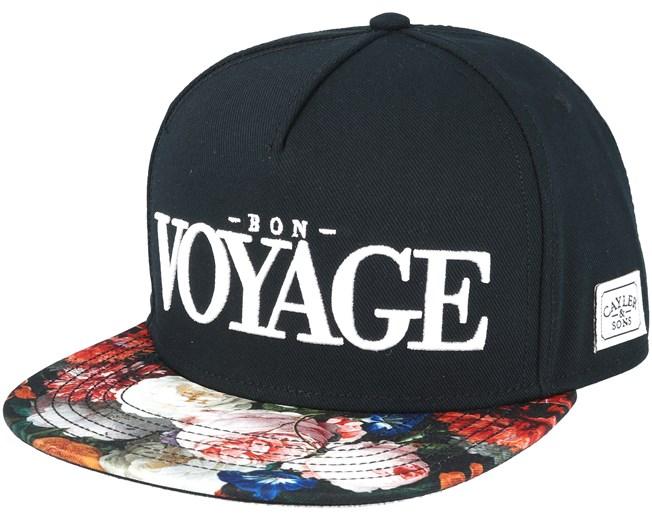 Bon Voyage Black Snapback - Cayler   Sons caps - Hatstore.no 6cfb59d14d3