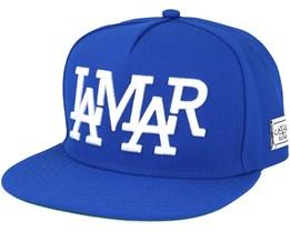 Lamar Blue Snapback - Cayler & Sons