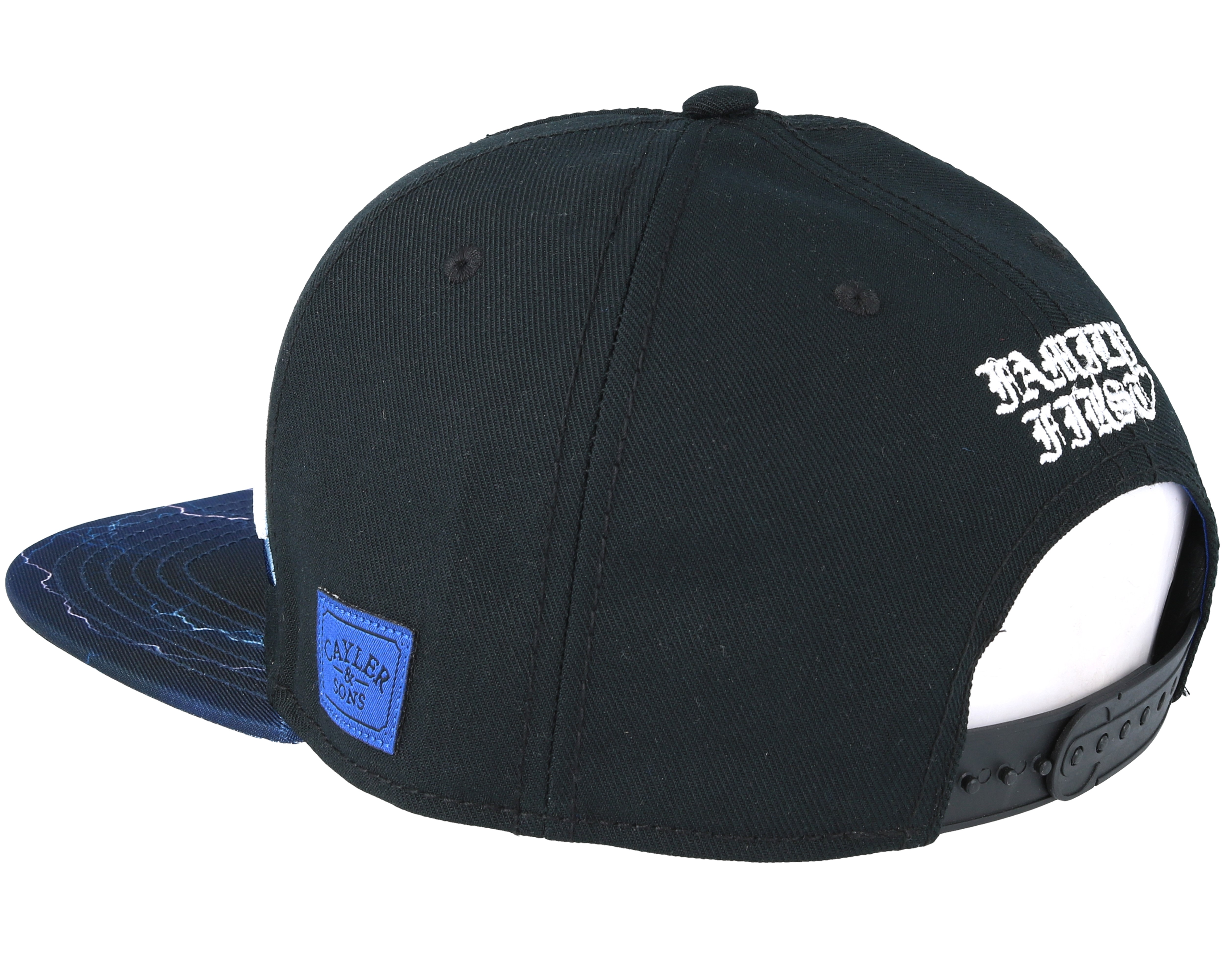 Dynarock Black Snapback - Cayler & Sons caps | Hatstore.co.uk