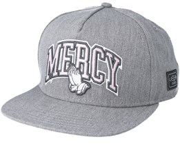 Mercy Heather Grey Snapback - Cayler & Sons
