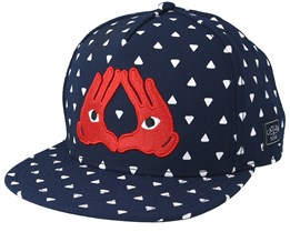 In The House Navy Snapback - Cayler & Sons