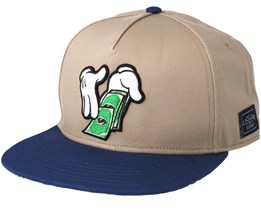 Make it Rain Sand Snapback - Cayler & Sons