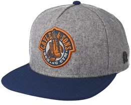 Boxing Gym Heather Grey Snapback - Cayler & Sons