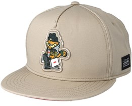 Hyped Garfield Sand Snapback - Cayler & Sons