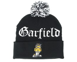 Left Side Garfield Pom Pom Beanie - Cayler & Sons