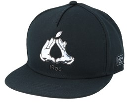 Cookin` Black Snapback - Cayler & Sons