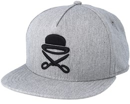 Pa Icon Grey/Black Snapback - Cayler & Sons