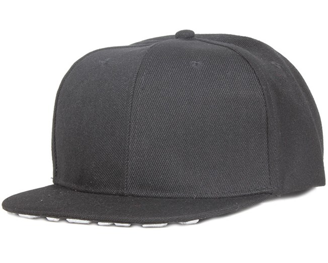 Embroidery Friends Black Snapback - Somewear
