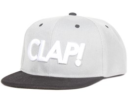 Clap Grey/Black Snapback - Somewear