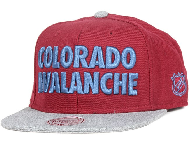 Colorado Avalanche Forces Snapback - Mitchell & Ness