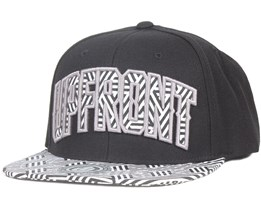 BATTLE Black/Pattern Snapback - Upfront