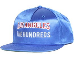 Globe Blue Snapback - The Hundreds
