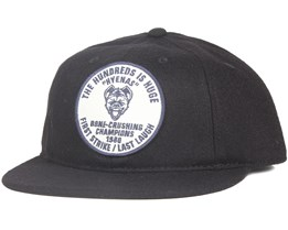 Shortstop Black Snapback - The Hundreds