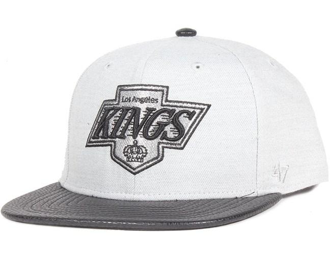 LA Kings Berendo Grey Wool Snapback - 47 Brand