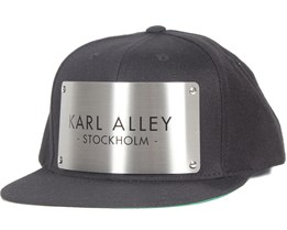 Stockholm Black Snapback - Karl Alley