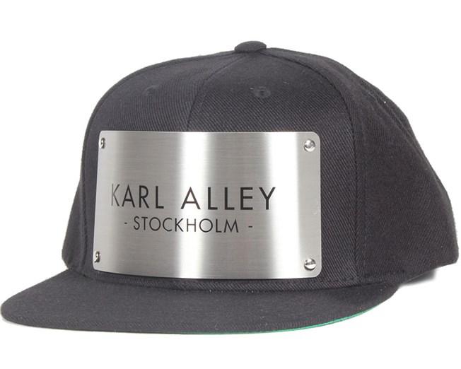 Stockholm Black Snapback - Karl Alley