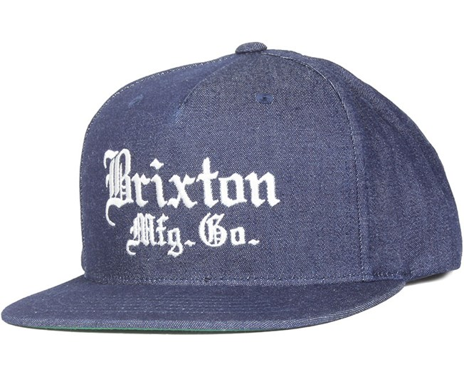 Vincent Denim Snapback - Brixton