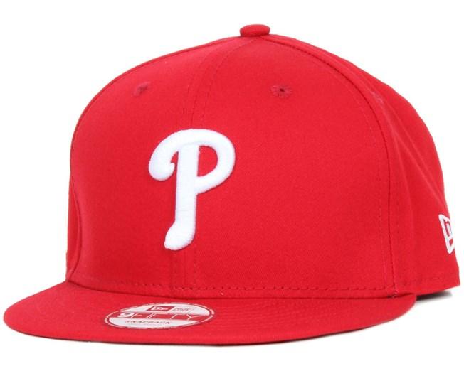 Philadelphia Phillies MLB 9Fifty Scarlet Snapback - New Era