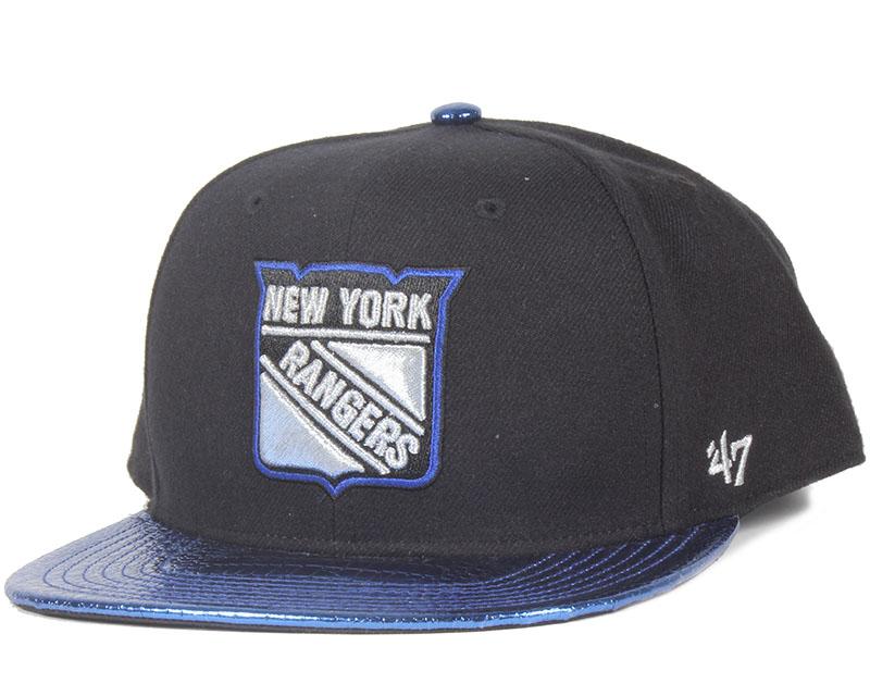 ny rangers tragic ride blue snapback 47 brand cap. Black Bedroom Furniture Sets. Home Design Ideas