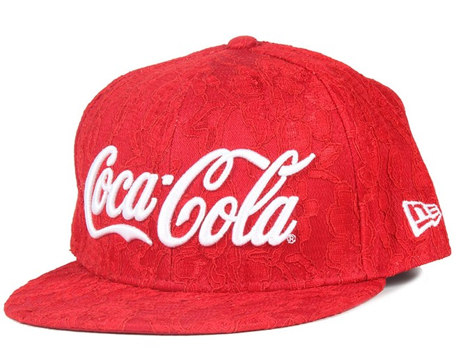 Coca Cola Lace Red Woman 9Fifty Snapback - New Era