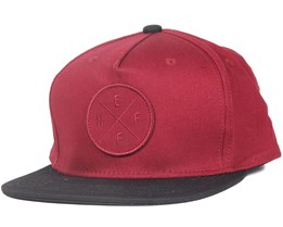 The X Maroon Strapback - Neff