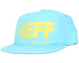 Neon Krinkle Cyan Snapback - Neff