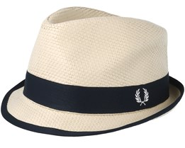 Straw Natural Trilby - Fred Perry