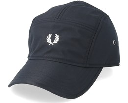 Nylon Black 5-Panel - Fred Perry