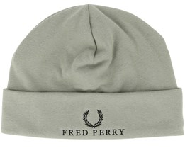 Jersey Washing Khaki Beanie - Fred Perry