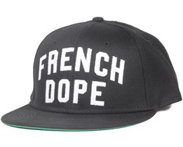 Dope Black Snapback - Space Monkey