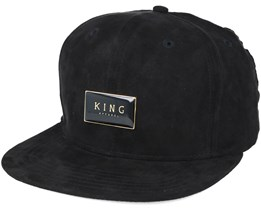 Gold Seal Black Snapback - King Apparel