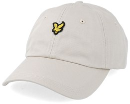 Baseball Cap Light Stone Adjustable - Lyle & Scott