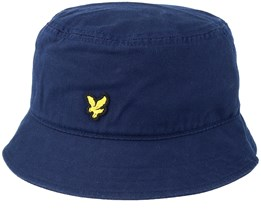 Cotton Twill Dark Navy Bucket - Lyle & Scott