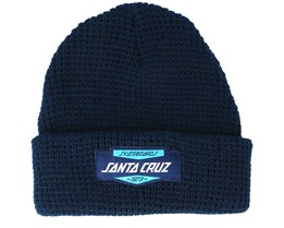 Duty Light Heather Indigo Beanie - Santa Cruz